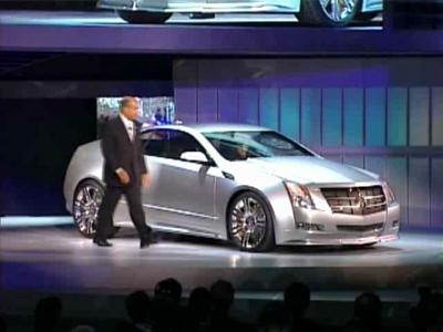 Reportage Cadillac CTS Coupé Concept