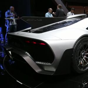 Francfort 2017 : Mercedes-AMG Project One