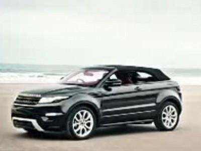 Le Range Rover Evoque Cabriolet avec son toit