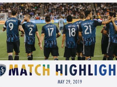 Le résumé de Sporting Kansas City - Los Angeles Galaxy | 29 mai 2019