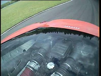 Essai Ferrari F430 avec Margot Laffite