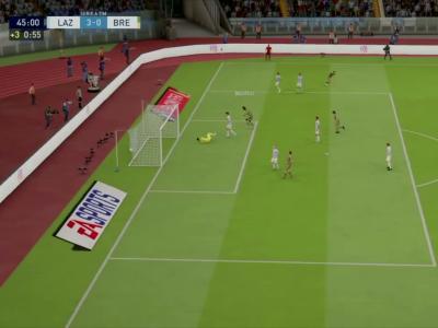 Lazio Rome - Brescia Calcio sur FIFA 20 : résumé et buts (Serie A - 37e journée)
