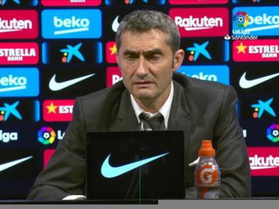 """13e j. - Valverde : """"Impossible de ne pas dépendre de Messi"""""""