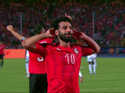 Egypte - RD Congo : le but de Salah en vidéo