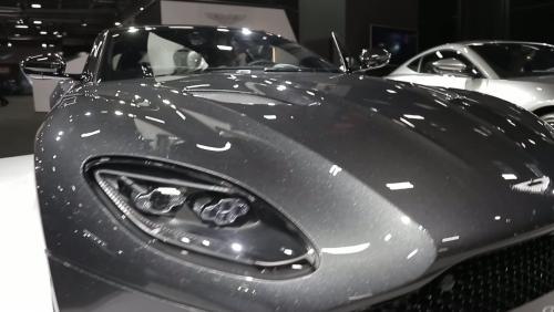 Mondial de l'Auto 2018 : l'Aston Martin DBS en vidéo