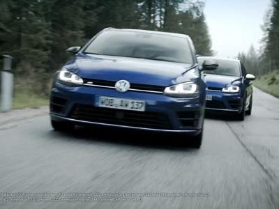 Sébastien Ogier s'amuse en Volkswagen Golf R SW