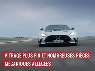 Mercedes-AMG GT Black Series : la plus méchante des AMG homologuée pour la route en vidéo