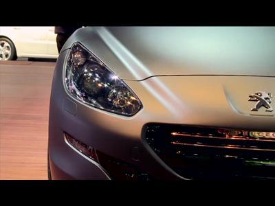 Peugeot RCZ R Concept - Mondial 2012