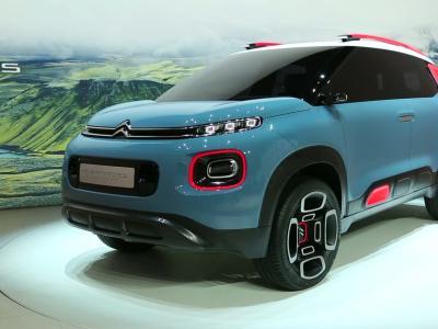 Genève 2017 : Citroën C-Aircross Concept