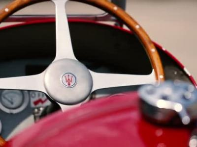 Maserati Tipo 6CM de 1939 fête les 80 ans de sa victoire à la Targa Florio