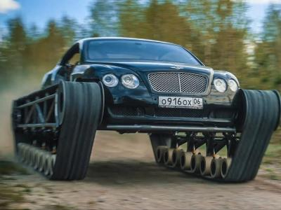 La Bentley Continental GT transformé en Ultratank