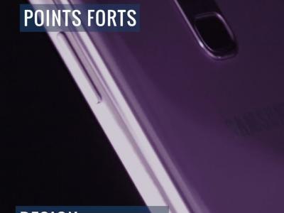 Samsung Galaxy S9+ : notre test résumé en vidéo