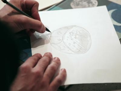 Poussière d'étoile, une création de François Daubinet
