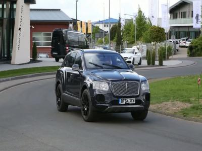 Le Bentley Bentayga à l'attaque du Nürburgring
