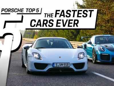 Porsche : les 5 modèles les plus rapides