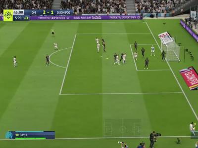 OM - Dijon FCO sur FIFA 20 : résumé et buts (L1 - 32e journée)