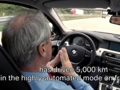 La voiture qui conduit toute seule par BMW