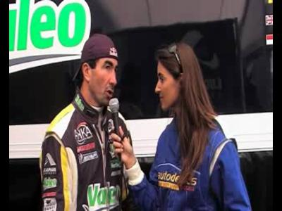 24h du Mans - Interview Luc Alphand Alphand