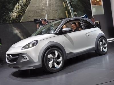 Genève 2013 : Opel Adam Rocks