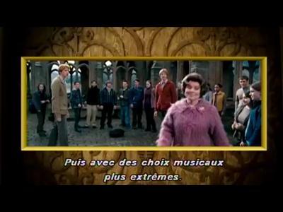 Bonus DVD Musique - Harry Potter et l'orde du Phenix