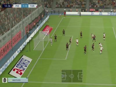 Juventus Turin - Torino FC sur FIFA 20 : résumé et buts (Serie A - 34e journée)