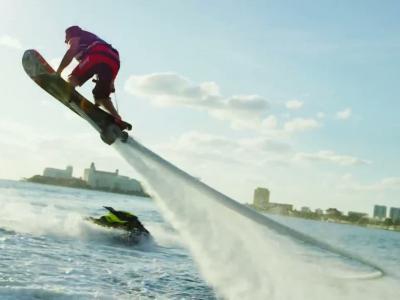 overboard, la planche qui permet de voler au-dessus de l'eau