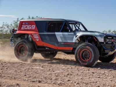 Ford Performance Bronco R : le prototype hommage à la victoire au Baja 1000