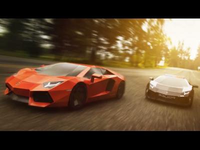 Offrez-vous une Lamborghini Aventador en... papier !