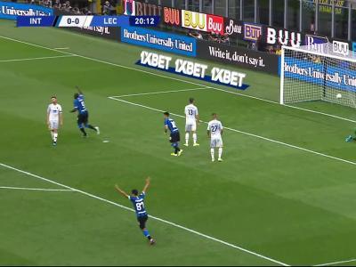 Inter Milan - Lecce : le résumé et les buts en vidéo