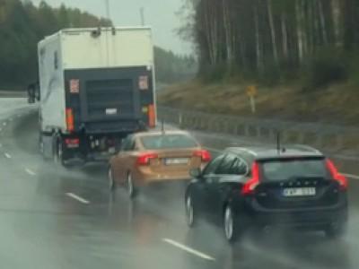 La conduite automatisée par Volvo