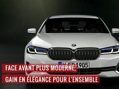 BMW Série 5 : le restylage 2020 en vidéo