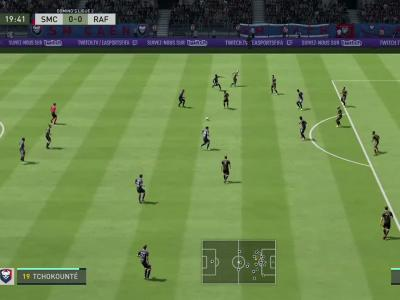 Stade Malherbe de Caen - Rodez AF sur FIFA 20 : résumé et buts (L2 - 36e journée)