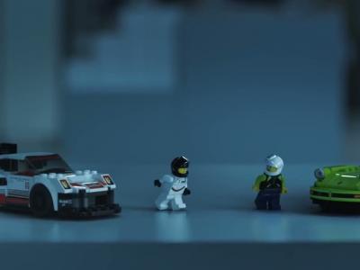 Les Porsche 911 RSR et 930 Turbo débarquent en Lego