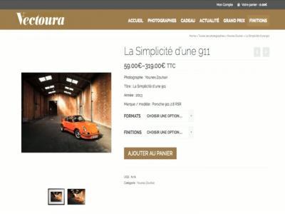 Vectoura: par passion pour l'automobile et la photographie