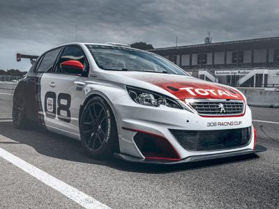 Peugeot 308 Racing Cup : 308 comme 308 chevaux !