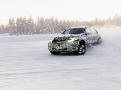 Mercedes EQC : la présentation du SUV électrique en direct