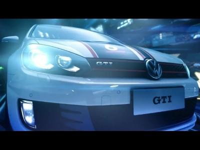 La Golf GTI actrice d'un film de Science Fiction