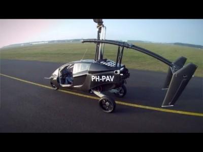 La voiture volante nous vient de Hollande