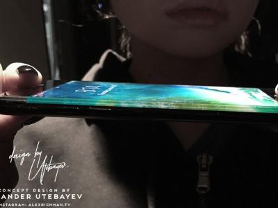 iPhone 8 : concept d'Alex Richman avec une idée ingénieuse pour cacher le capteur photo