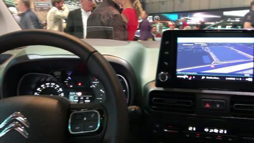 Le Citroën Berlingo en vidéo depuis le salon de Genève 2018