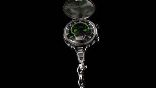 Skull Pocket, une première montre de poche pour HYT