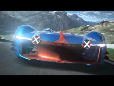 L'Alpine Vision Gran Turismo est disponible au téléchargement