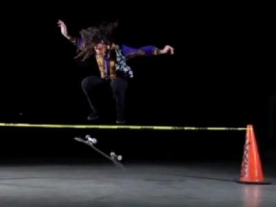 Richie Jackson, l'extra-terrestre du skateboard