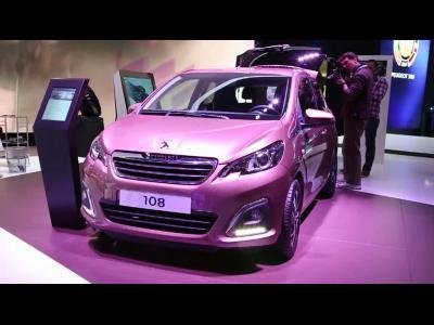 Genève 2014 : Peugeot 108