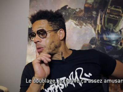 TitanFall 2 : Joey Starr prête sa voix - le making off