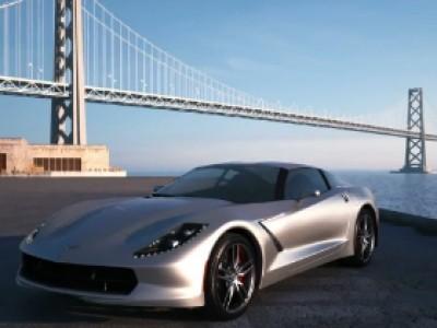 Une interprétation de la Chevrolet Corvette C7