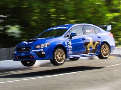 Record : la Subaru WRX STI s'offre l'île de Man