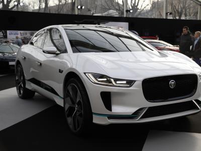 Jaguar I-Pace : le 1er SUV 100% électrique de Jaguar au FAI 2020