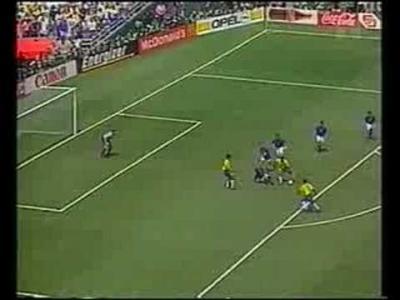 La démonstration de Franco Baresi face au Brésil en 1994