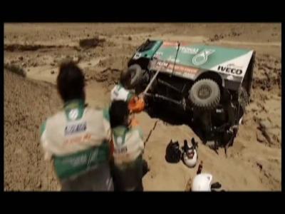 Revivez le Dakar 2013 à bord d'un camion de 900 ch